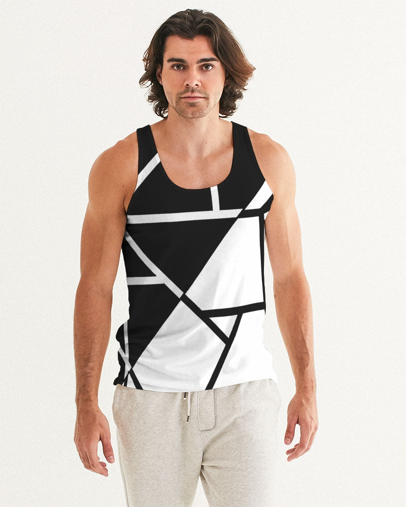 Black/White Tank Top