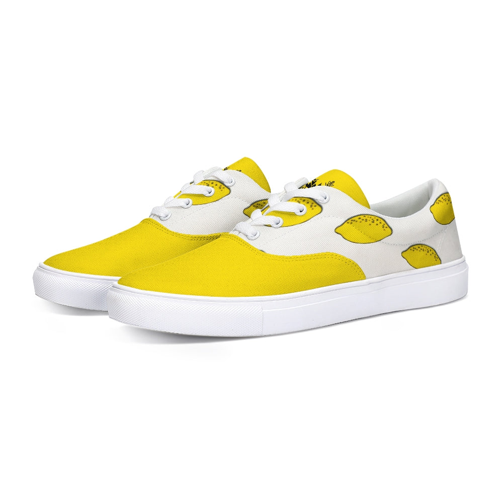 Limonada Lace Up Canvas Shoe