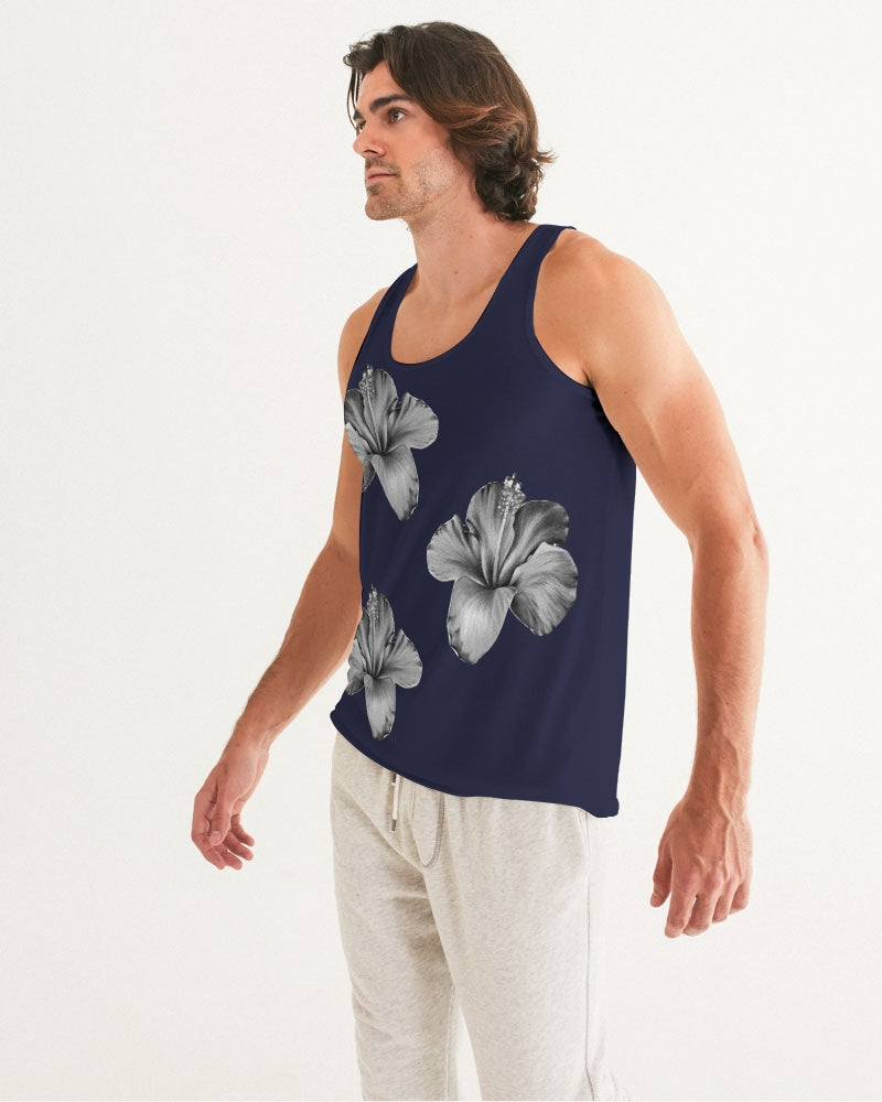 MidNight Flower Tank Top