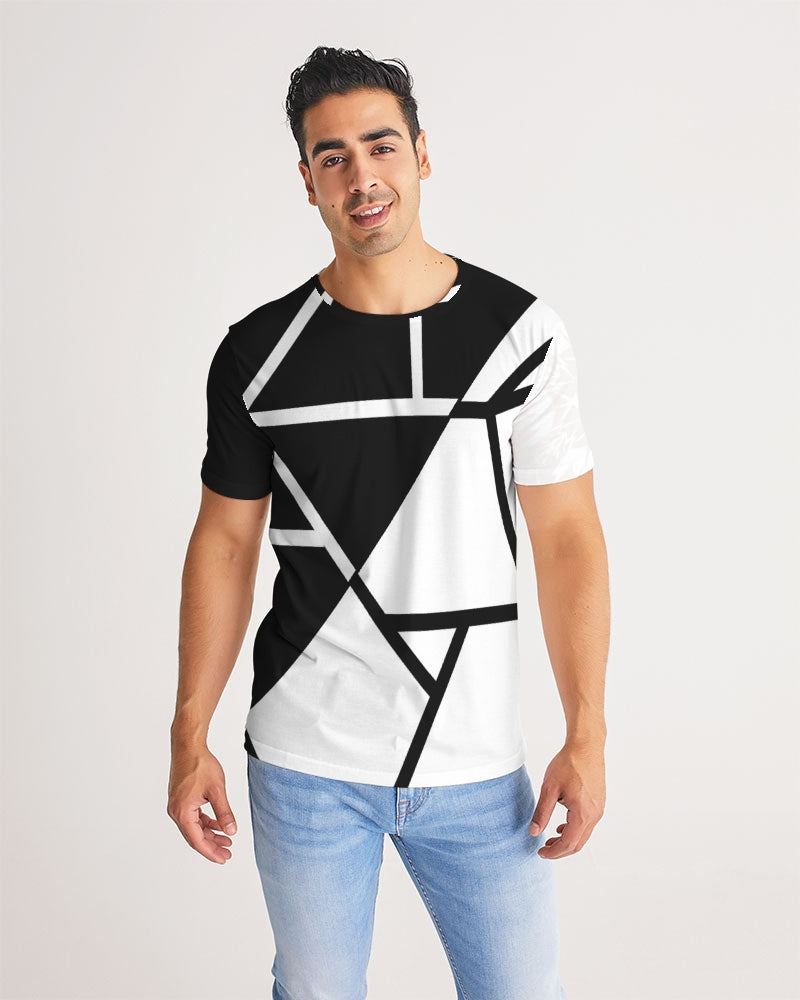Black/White Men's Tee