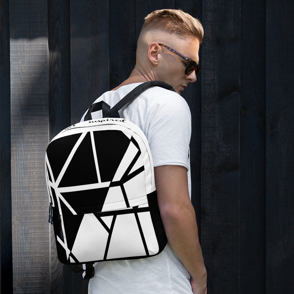 Black/White Backpack