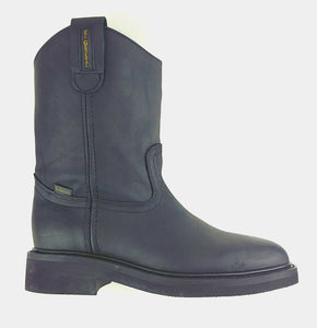 Full-Grain Leather Wellington Boot - Zig Zag Sole