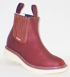 Pull-On Boots (Wine)