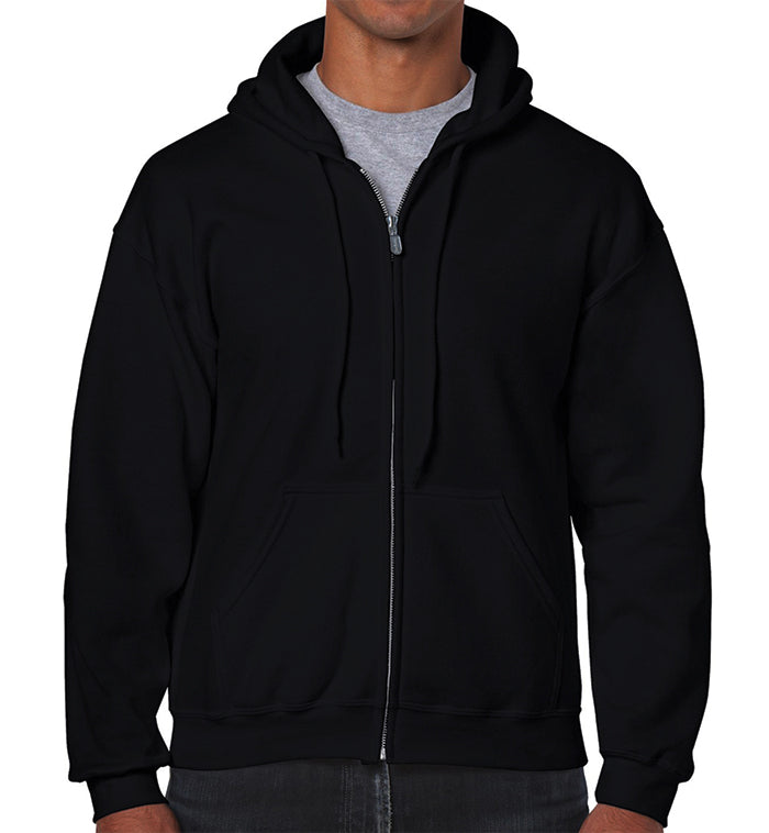 Cotton Plus - Adult Zipped Hooded Sweater (9.0 Oz.)
