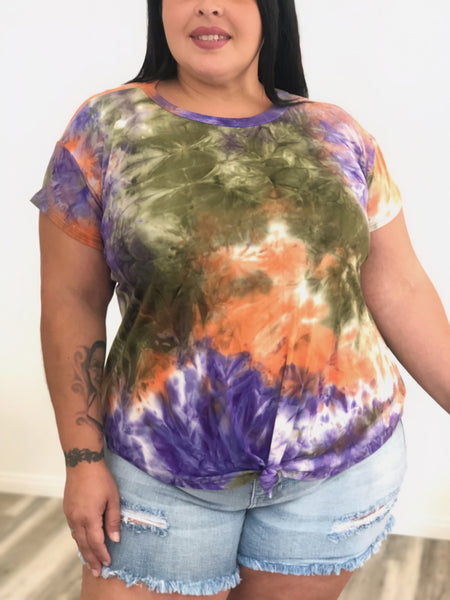 Tie Dye Top (2colors)
