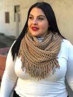 Coffee Infinity Scarf