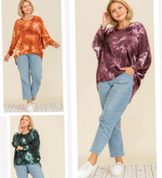 High Low Oversized Sweater Top (3 colors)