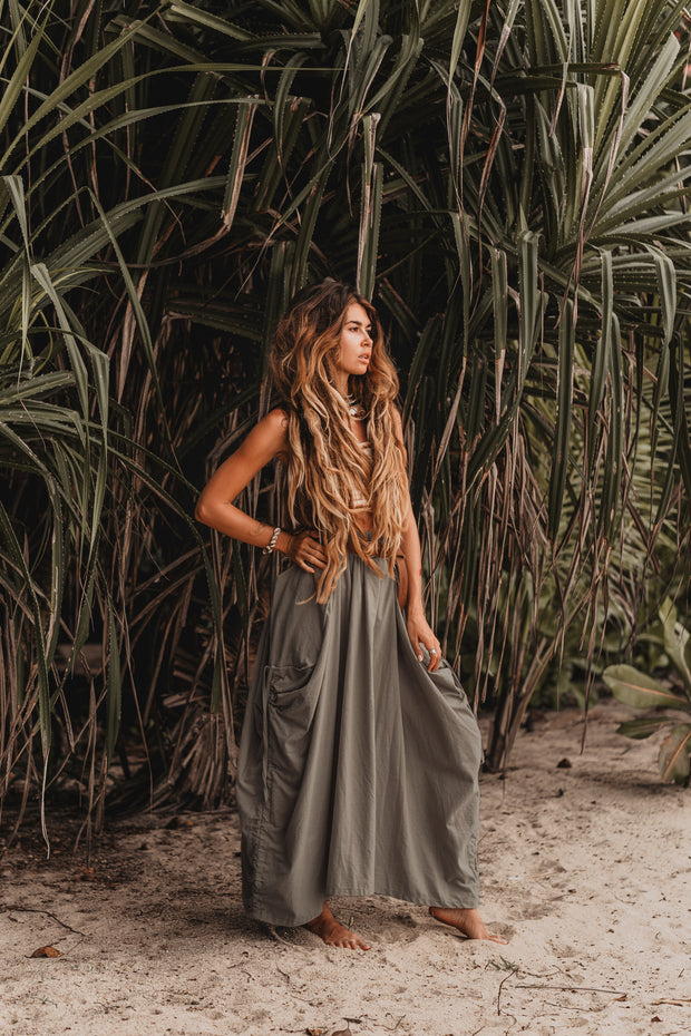 Maxi Skirt Alaina Grey