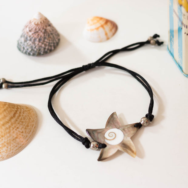 Boho Shell Bracelet Women White Star