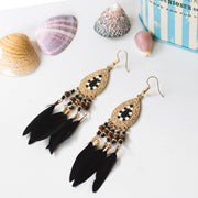 Boho Feather Earrings