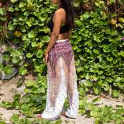 Harem Pants White Mantra