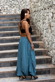 Boho Skirt Maxi Gypsy Ocean Women
