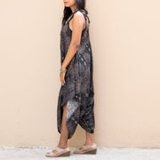 Boho Jumpsuit Dress Black