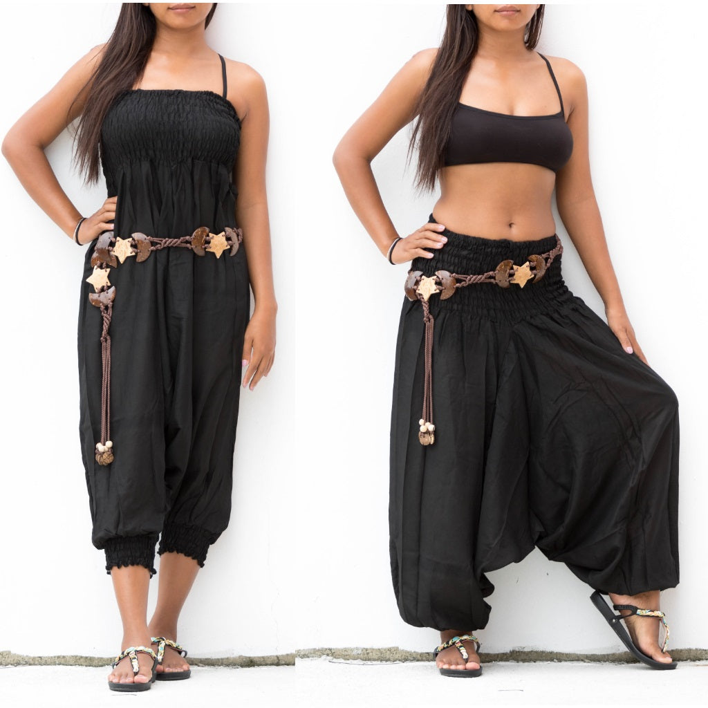 Harem Jumpsuit Black