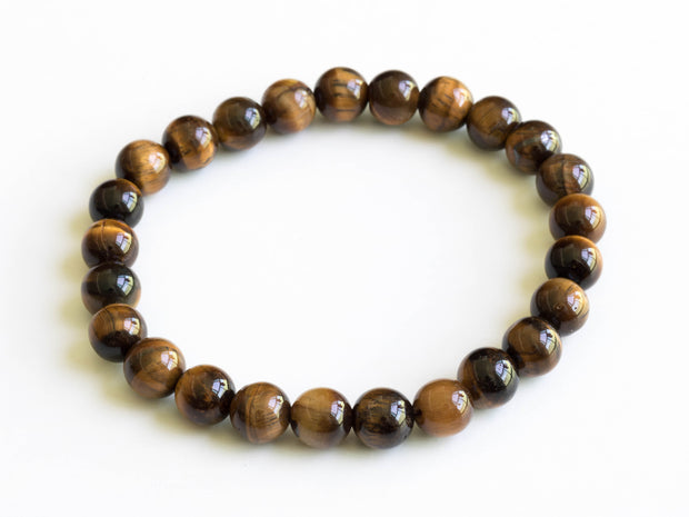 Tiger's Eye Gem Stone  Bracelet