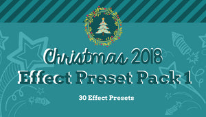 Variety Effects Pack 1 2018! - 30 Effect Presets
