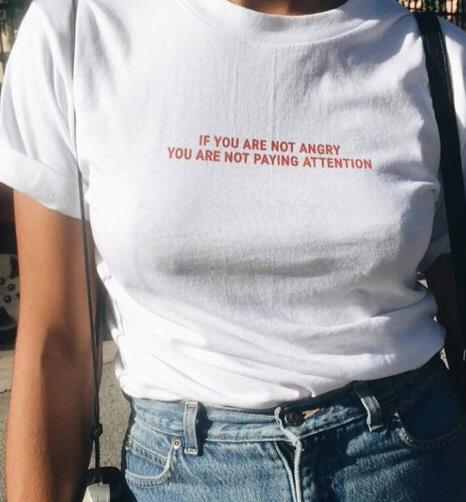 'IF YOU ARE NOT ANGRY' Shirt