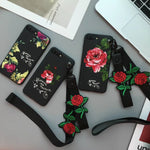 'ROSE' Embroidered Case