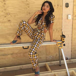 'BERNICE' Plaid 2-Piece Set
