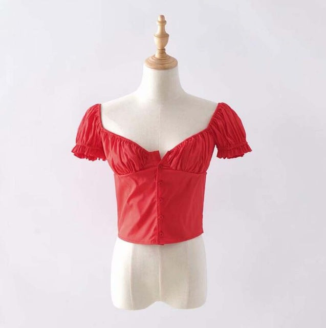 'KAILS' Button Blouse