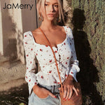 JAMERRY Flower Blouse