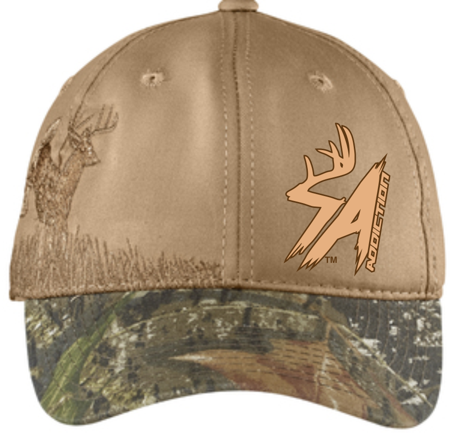 SA Signature Whitetail Hat – Shed Antler Addiction c4b7acf53f5