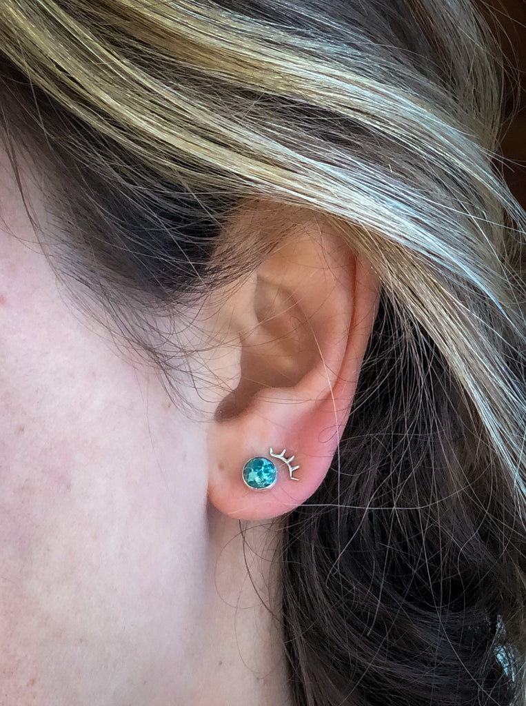 Everyday Stone Stud Earrings