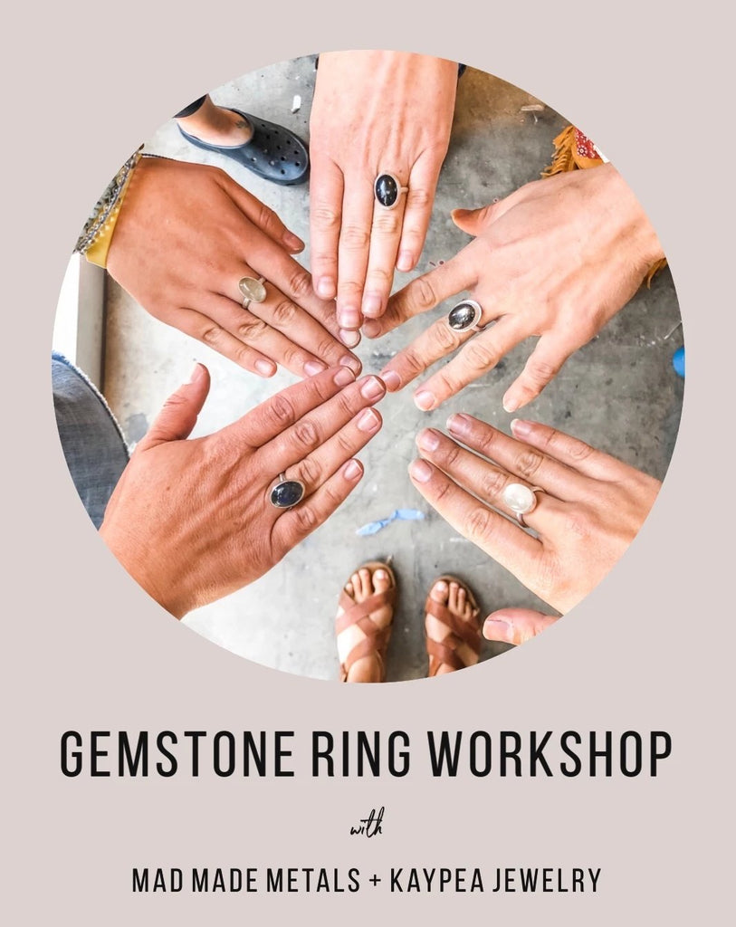Gemstone Ring Workshop