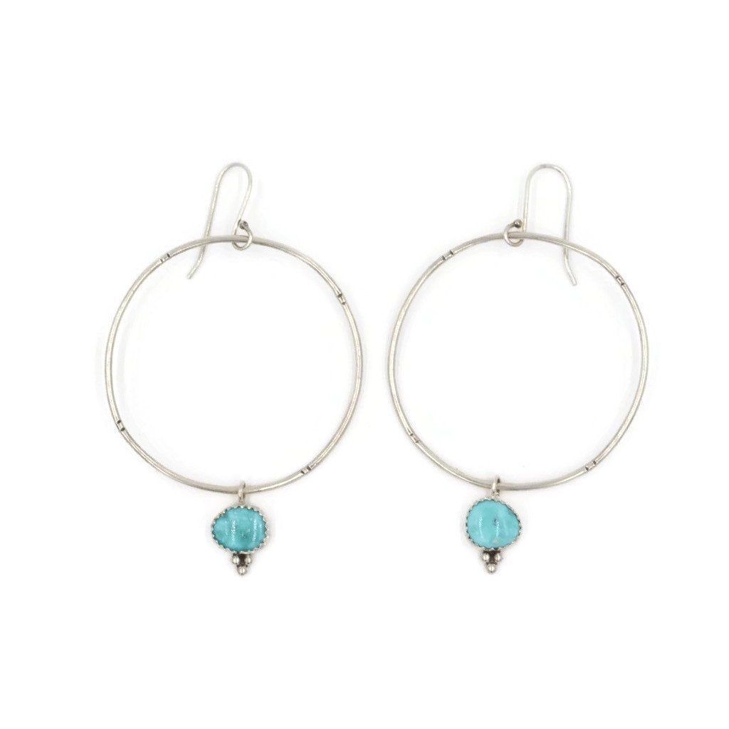 Whitewater Hoop Earrings