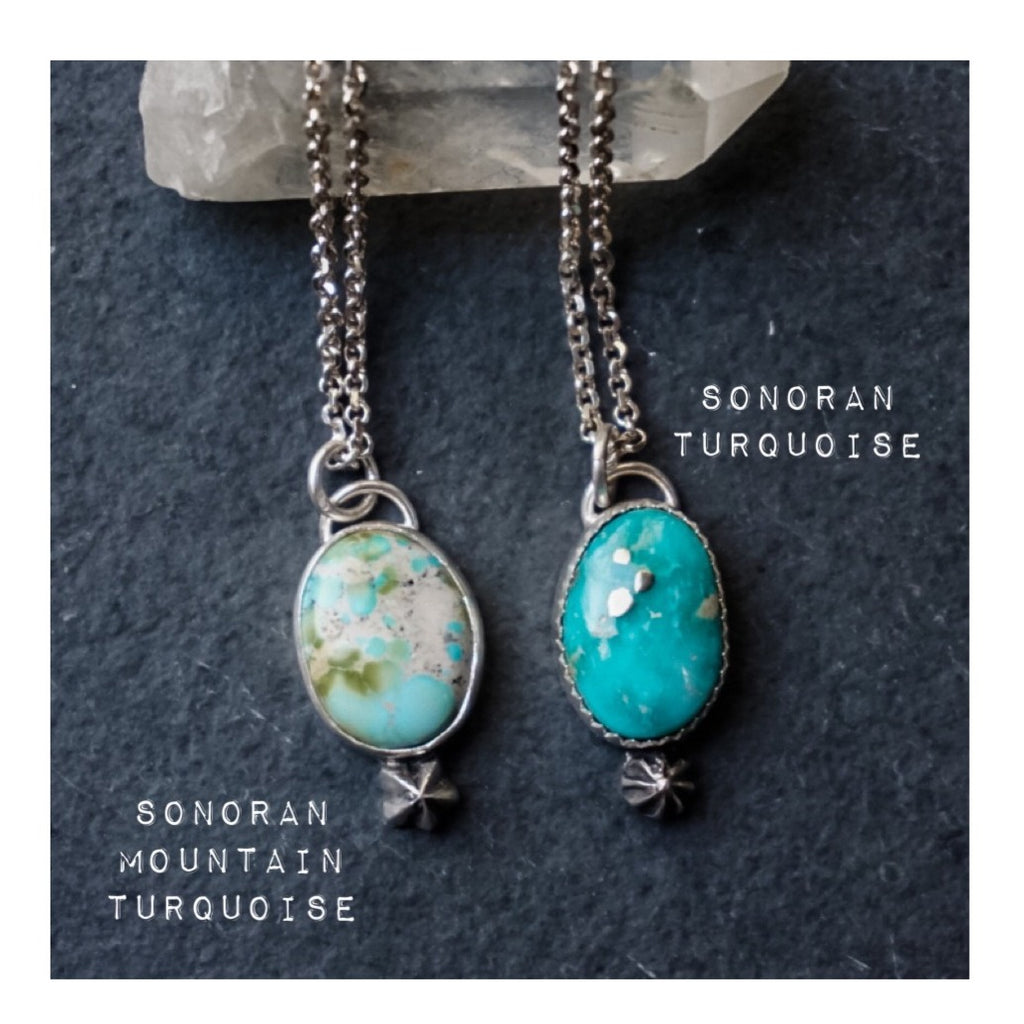 Turquoise Drop Necklaces