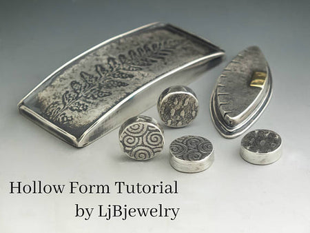 Hollow form tutorial, metalsmith tutorial