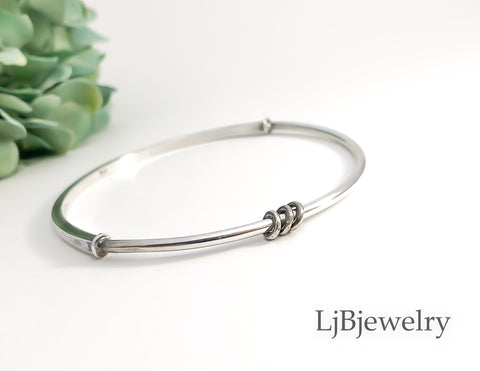 Sterling Silver Stacking Bangle