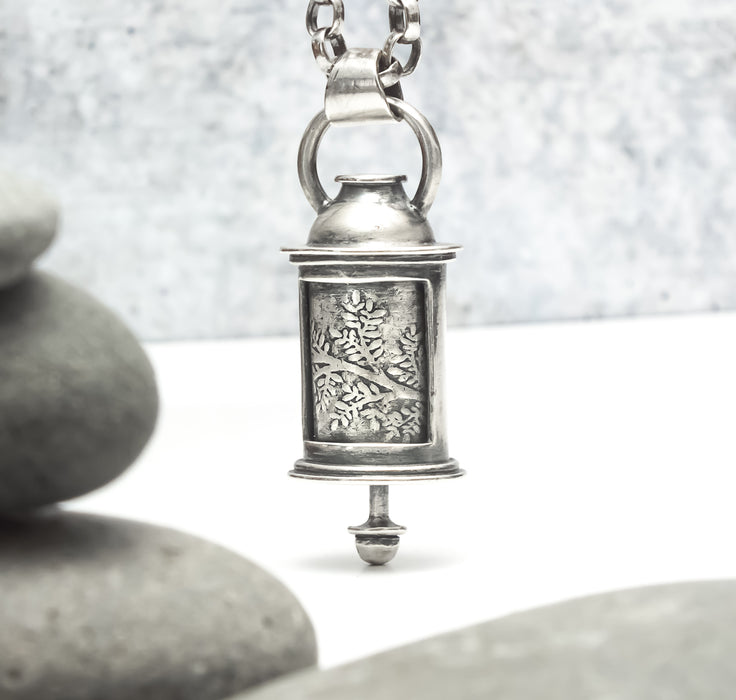 Sterling Silver Scroll Pendant