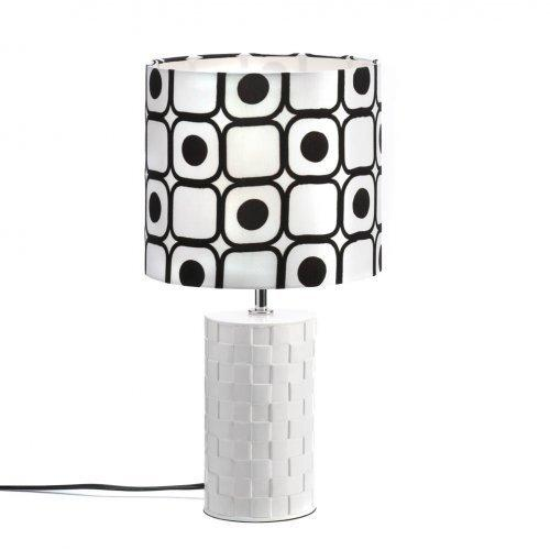 Modern Black And White Table Lamp (pack of 1 EA)