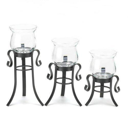 Allure Candle Stand Trio (pack of 1 SET)
