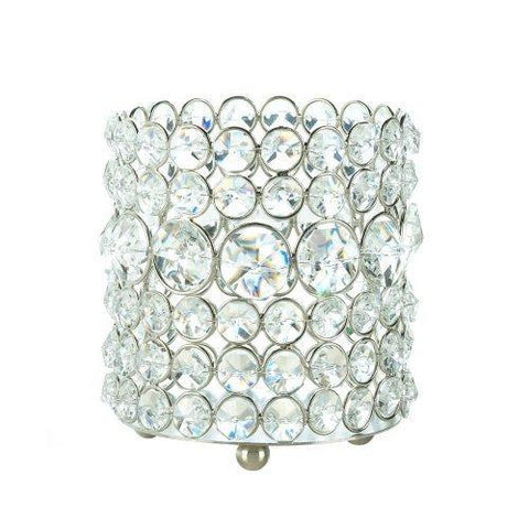 Brilliant Gems Candle Holder (pack of 1 EA)