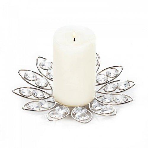 Crystal Flower Candleholder (pack of 1 EA)