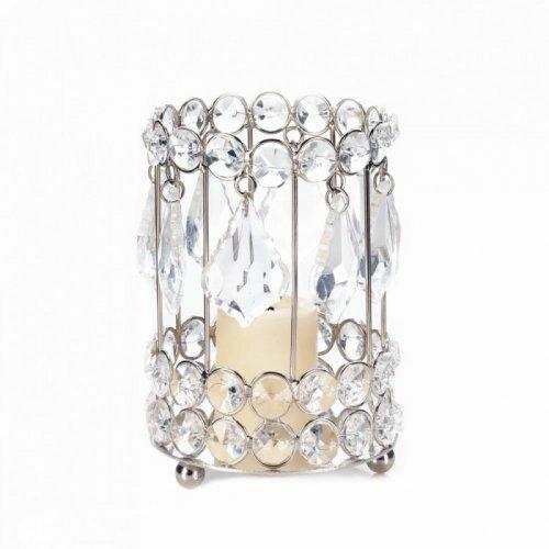 Large Crystal Drop Candleholder (pack of 1 EA)