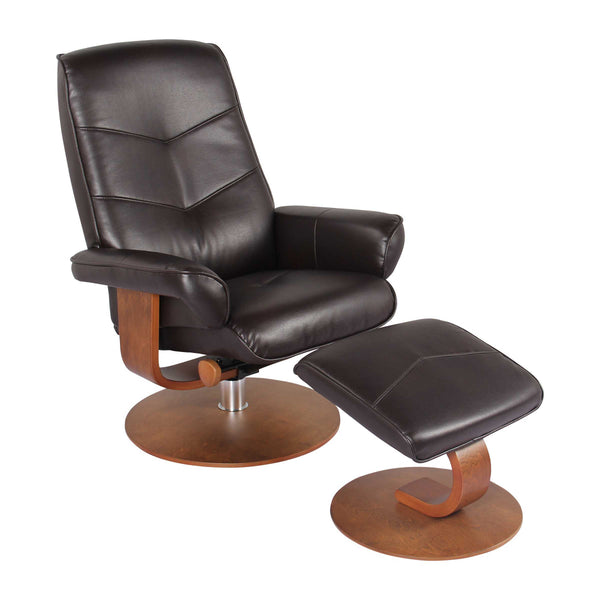 Recliner Chair & Ottoman - Java