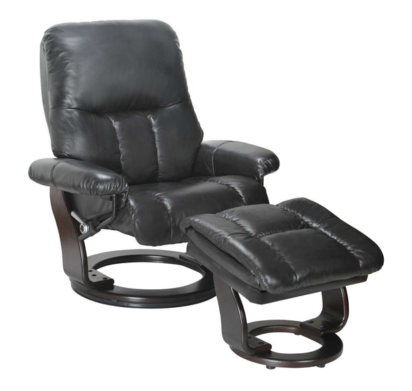 Recliner Chair & Ottoman- Ebony
