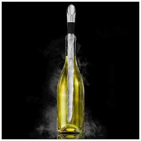 Winecicle - The Wine Chiller Icicle Stick and built in aerator