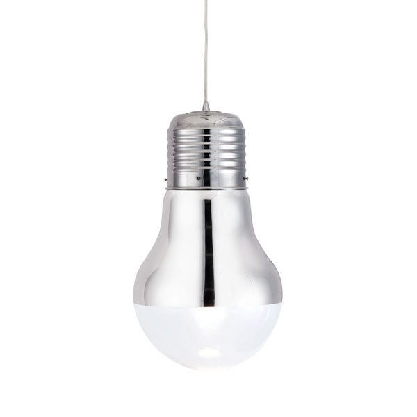 Ceiling Lamp - Glass Chrome