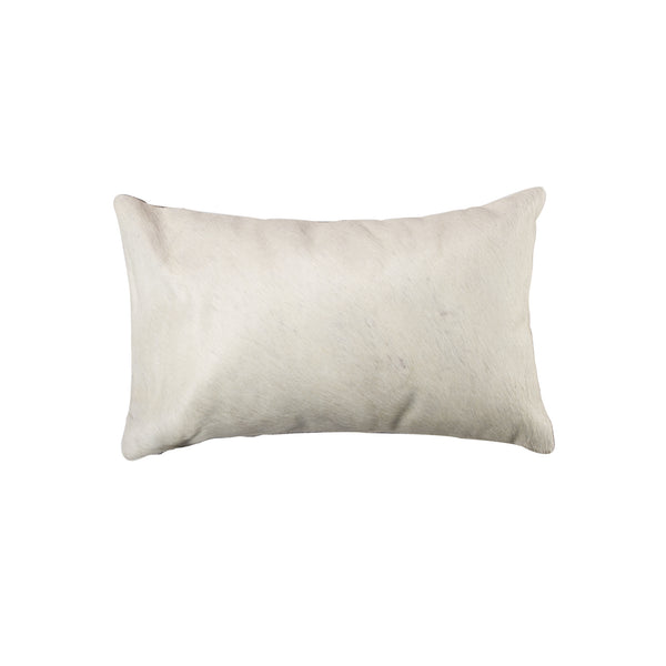 Cowhide Pillow 12X20 - Natural