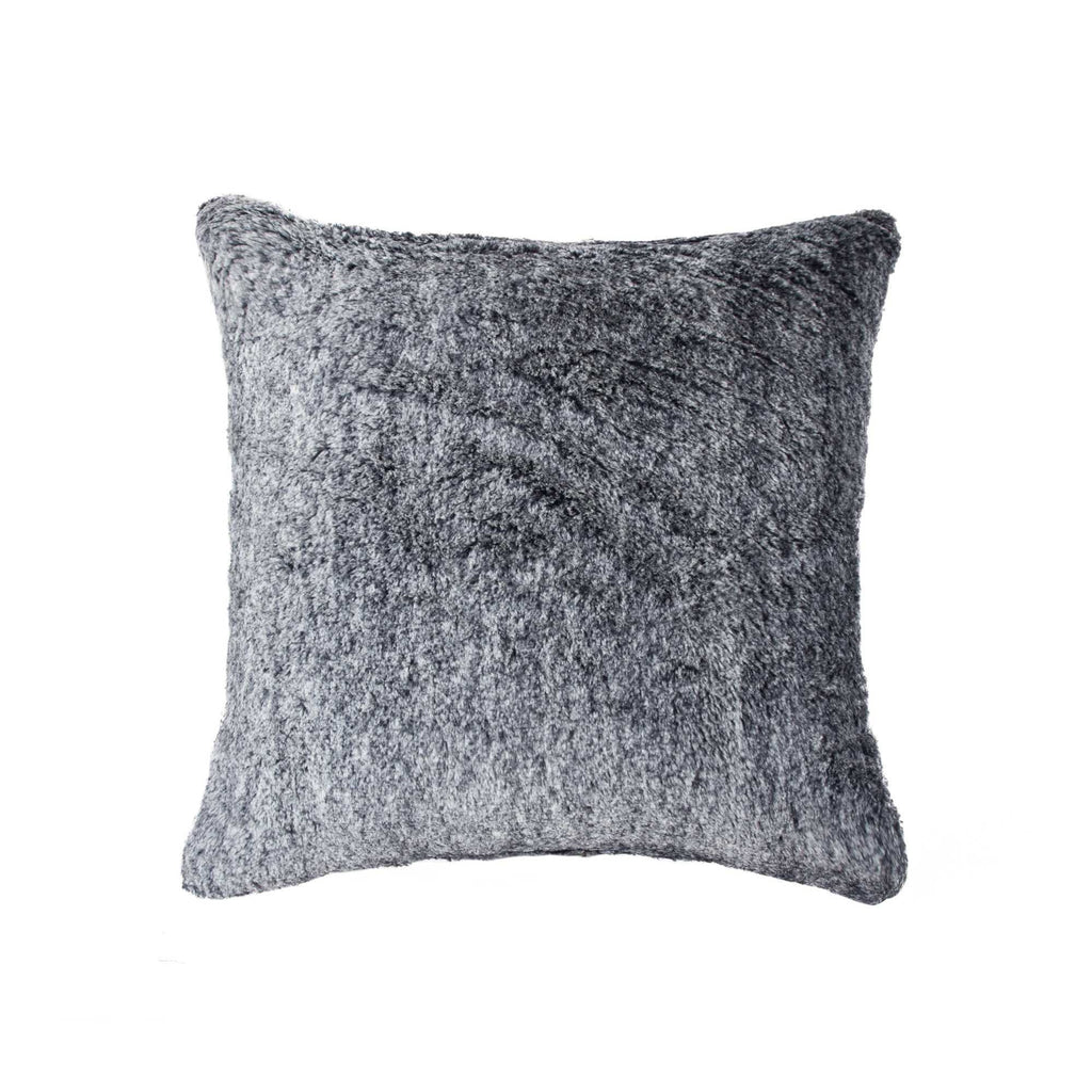 "Fur Pillow 20"" X 20"" - Gray Mix"