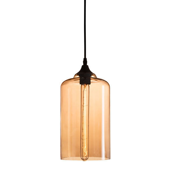 Ceiling Lamp - Glass Metal
