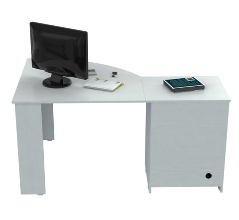 Corner Computer Desk - Melamine /Engineered wood