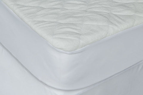 "WATERPROOF BAMBOO TERRY CRIB MATTRESS9"" PRCT W/PAD LINER"