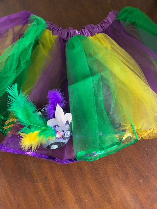 Girls Mardi Gras Tutu