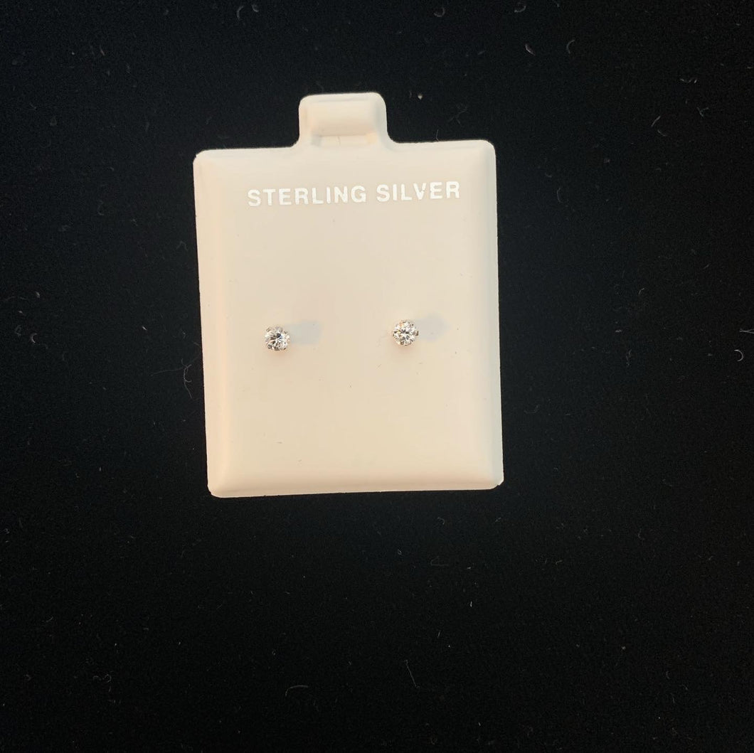 Sterling Silver Earrings size 1