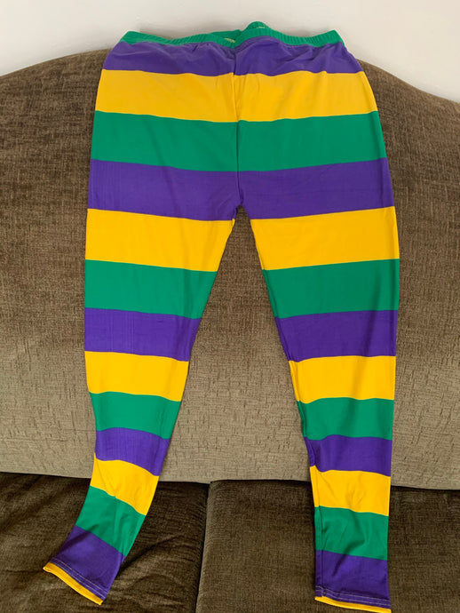Mardi Gras Tights